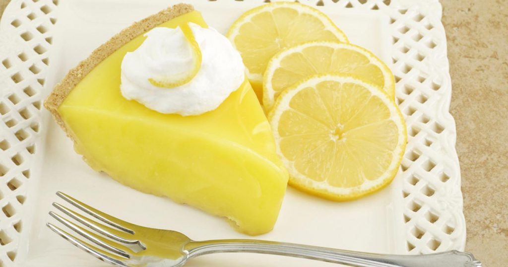Sunshine Lemon Pie