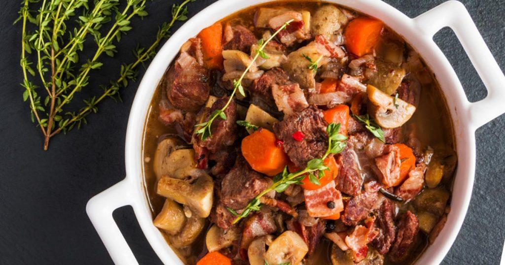 Beef bourguignon recipe