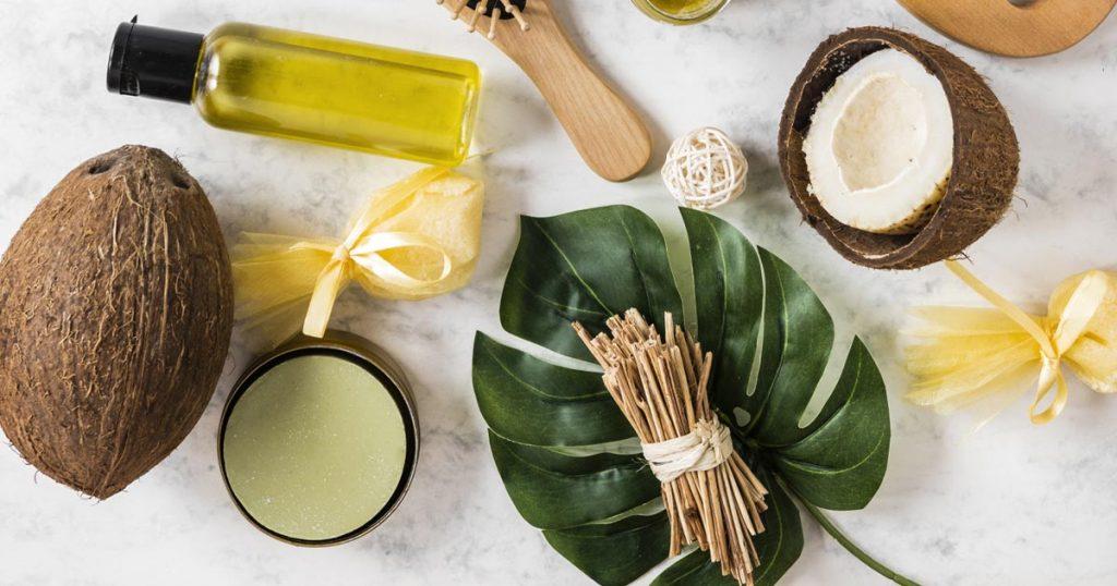 Coconut oil skincare